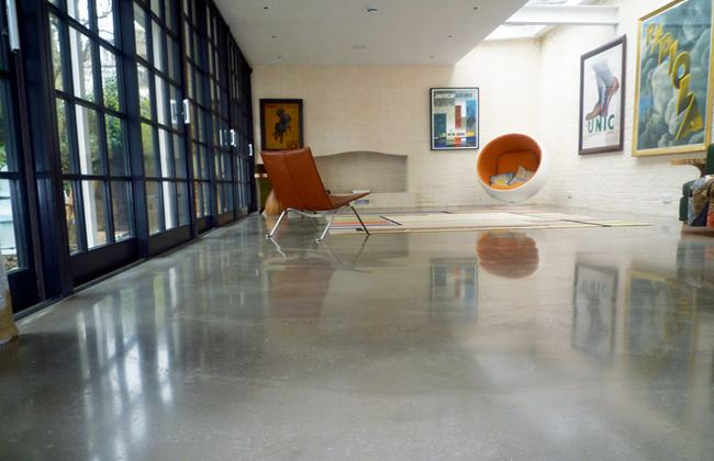 Concrete-flooring