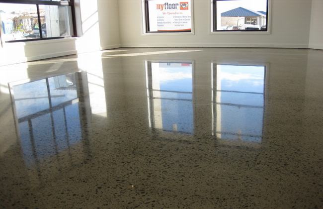 High-gloss-polished-concrete